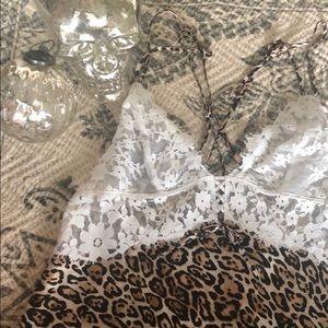 Leopard & lace Victoria's Secret chemise